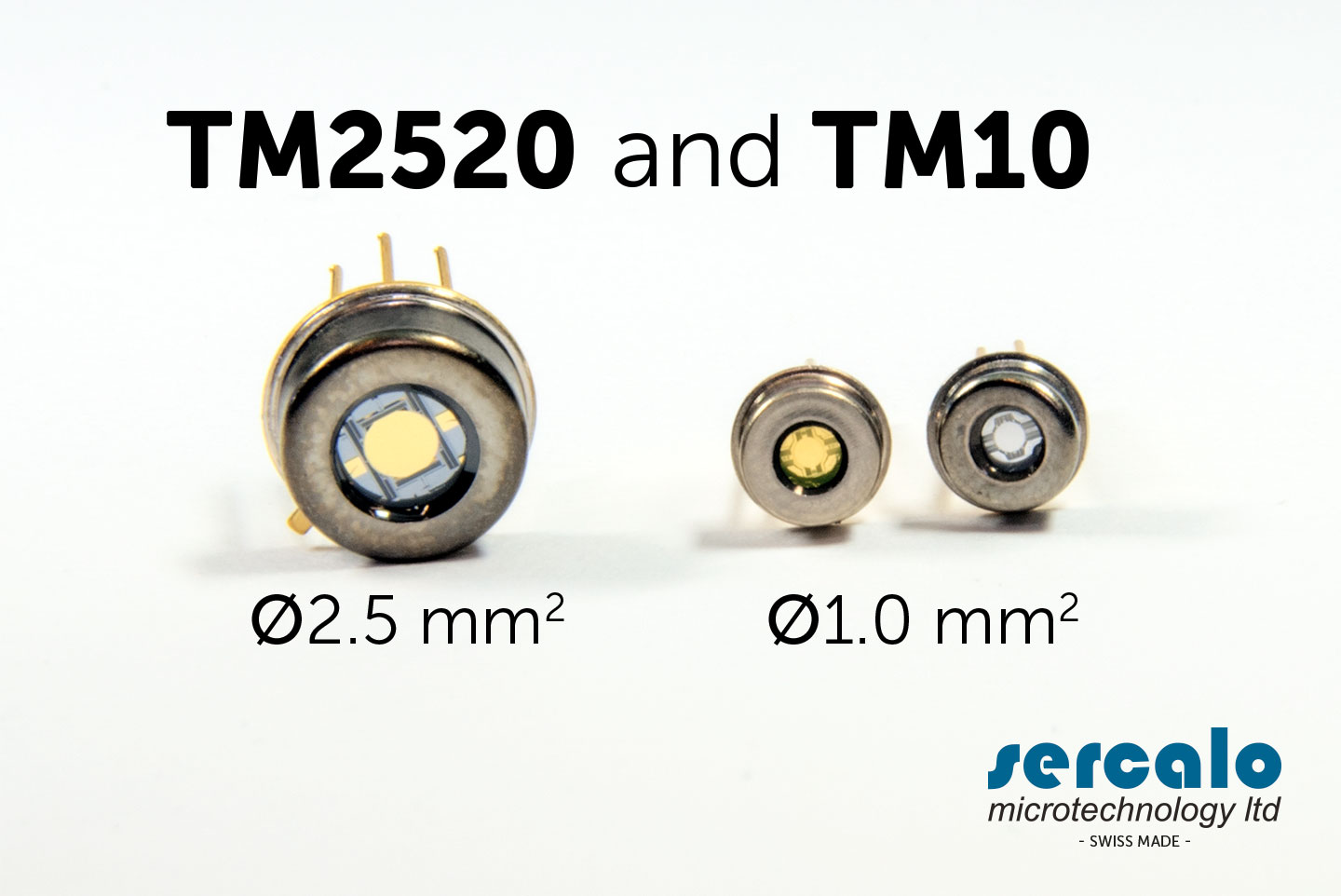 MEMS Electro Micro-mirrors TM10 and TM2520