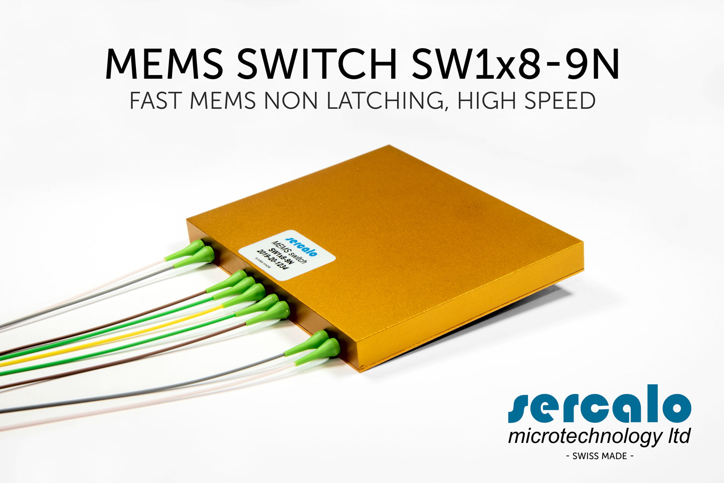 SERCALO MEMS SWITCH NON LATCHING  SW NxN