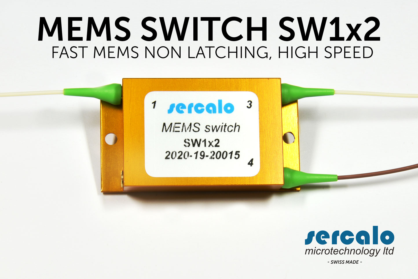 OPTICAL MEMS SWITCH NON LATCHING SW 1x2