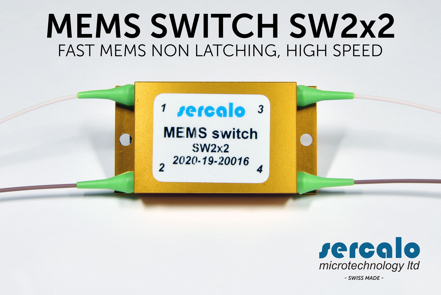 OPTICAL MEMS SWITCH NON LATCHING SW 2x2